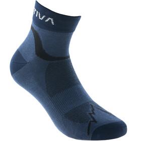 La Sportiva Fast Running Socks, azul/negro
